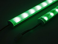 LED STICK BAR green on
